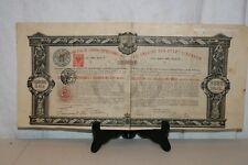 ANCIENNE OBLIGATION DE LISBONNE  DE 1886.