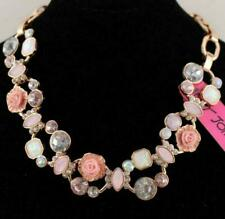 Charm Pendant Betsey Johnson Christmas present Hollow Flower Jewelry necklace