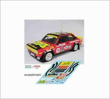 DECALS FIAT 131 ABARTH LUCKY RALLY COSTA SMERALDA 1979
