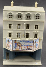 Pola N Scale 5 Story City Apartment Building With Theater Assembled Vintage RARE