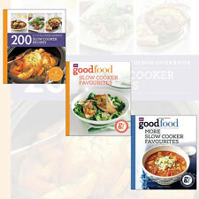 Good Food: More Slow Cooker Favourites Recipe 3 Cook Books Collection Set, New