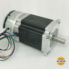 ACT MotorGmbH 1PC Nema34 Brake Stepper Motor 34HS1450D14L34J5-S8 114mm 5A 8Nm