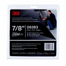 3M 6383 Automotive Acrylic Double-Sided Attachment Tape 7/8