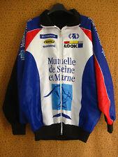 Veste Cycliste LOOK Manche Longue Mutuelle seine et marne Jersey - L