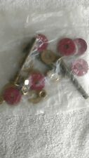 All Brass Toilet Tank-To-Bowl Bolt Kit for 3 Hole Toilet Tank - NEW