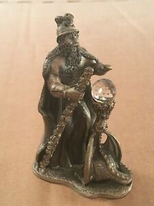 Tudor Mint Myth & Magic The Dragons Spell Pewter Ornament Boxed