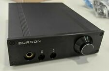 BURSON AUDIO FUN DUAL MONO CLASS A RCA ALPS POT HEADPHONE AMPLIFIER AMP PREAMP