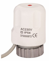 ACTUATOR FOR UNDERFLOOR HEATING Manifold 230v (Normally Close) * UK Stock