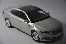 Skoda New Superb car model in scale 1:18 Gold