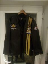 No Fear Leather Jacket top gun