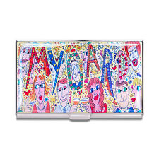 """Archived ACME Studio """"My Card"""" Business Card Case by James Rizzi NEW"""