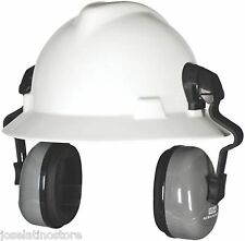 MSA 10129327 FULL BRIM (ONLY) Hard Hat Earmuff Attachment Hearing Protection