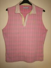 A WOMENS JOULES SLEEVELESS TOP PIT-PIT APPROX 20 INCHES SIZE  8 UK   / 18/46