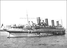 Photo Print: Quite Rare: HMHS Britannic  At Greek Port Of Mudros, WWI, 1916