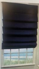 Blue Custom Home Collection Premium Roman Shades 43 X 38 Inches