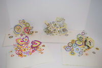 3D Pop Up Greeting Cards One Assortment Of Four Cards All For One Price