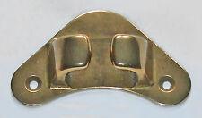 Fairlead, Cuerda guía, Forma Triangular Para Arco, 12mm mandíbula, latón sólido 13300b