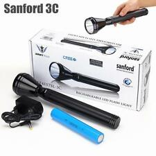 Sanford 3C CREE LED Tactical Waterproof Rechargeable Police Flashlight Torch