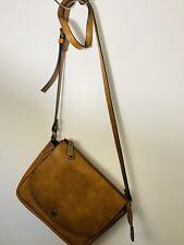 New STEVE MADDEN Women's CROSSBODY Handbag Purse  Tan Leather Fashion Bag