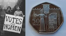 2003 UK Proof Fifty Pence 100th Anniversary Of The Suffragettes  50p Coin Rare