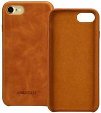 JISONCASE iPhone 7+ Case, Light Brown / Tan Slim Back Cover for Apple iPhone 7+