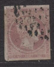 1861-1886 Large Hermes Heads 40lepta Stamp with C.F.