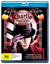 Charlie and the Chocolate Factory (2005) Blu-ray Disc NEW