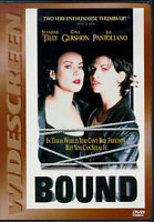 Bound (DVD, 1997, Unrated Version)  WS BRAND  NEW  RARE