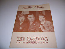 1947 MOROSCO THEATRE PLAYBILL - THE VOICE OF THE TURTLE - BEA PEARSON BAXTER