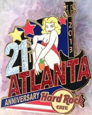 Hard Rock Cafe ATLANTA 2013 21st Anniversary PIN Sexy Girl & Peach - HRC #75178