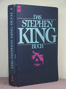 1st?, signed by 4, Das Stephen King Buch by Joachim Körber (1989) German edition