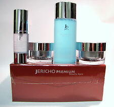 Jericho Premium Beauty Pack With Toner, Day Cream, Eye/Neck Gel & Active Serum
