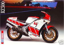 Yamaha RZ500 Poster MINT RZ500 RARE RZ 500 V4  Huge Poster