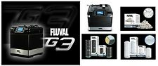 FLUVAL G3 ADVANCED AQUARIUM FILTRATION SYSTEM DELUXE PACKAGE. FREE EXTRAS!
