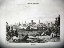 POLONIA,DANZICA, acciaio originale meta' XIX secolo,FRANCE MILITAIRE