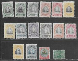 16 Salvador Stamps w/some thins from Quality Old Antique Album