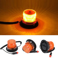 12V-24V Flashing Strobe Beacon Emergency LED Warning Light Car Auto Amber Lamp