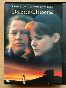 Dolores Claiborne DVD 1995 Stephen King Drama French Release in Snapper Case
