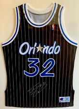 SIGNED 1992-93 SHAQUILLE SHAQ O'NEAL AUTHENTIC ROOKIE JERSEY AUTOGRAPH COA RC PE