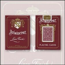 RED ARISTOCRAT Theory11 deck Vintage Collector's limited Bicycle Playing Cards