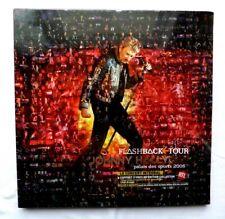 RARE JOHNNY HALLYDAY COFFRET 3 VINYLES 33 TOURS FLASHBACK TOUR NEUF SOUS BLISTER