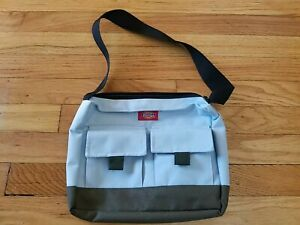 90's Dickies Small Bag/Purse Light Blue and White