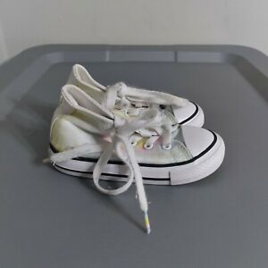 Converse All Star Chuck Taylor Toddler Kids Size 7 Shoes White Tie Dye Sneakers
