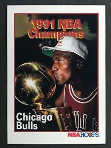 CHICAGO BULLS 1991 NBA CHAMPIONS MICHAEL JORDAN  NO 543  57997