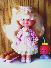 CHERRY MERRY MUFFIN  DOLL SERIES 1 DATED 1988 MATTEL ALMOST COMPLETE
