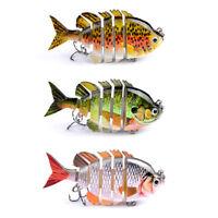 Professinal Multi Jointed Fishing Hard Lure Bait Life-like Swimbait Artificial