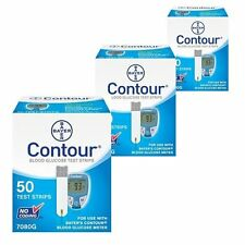 Test Strips 50 count Bayer Contour Blood Glucose Diabetic Test Strips 9/2018 !