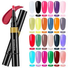 3 in 1 UV Gel Nail Polish Pen One Step Top Base Coat Nail Art Decor Manicure 8ml