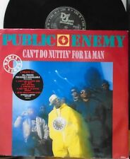 "PUBLIC ENEMY ~ Cant Do Nuttin For Ya Man ~ 4 TRACK 12"" Single PS LTD ED"