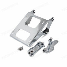 4 Docking Kit Tour Pak Mounting Rack For Harley Street Glide Road King 14-17 15